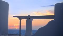 #sunset  in #mykonos  #greece  #mediterraneansea #afterglow (lelobnu) Tags: mediterraneansea afterglow sunset mykonos greece