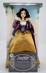 2017 D23 Snow White Limited Edition 17 Inch Doll - Disney Store Purchase - Deboxing - On Backing - CoA in Front of Doll - Full Front View (drj1828) Tags: d23 2017 expo purchases merchandise limitededition artofsnowwhite snowwhiteandthesevendwarfs snowwhite princess deboxing certificateofauthenticity le1023