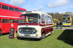 Latest addition to the Empress fleet. (steve vallance coach and bus) Tags: exs569f bedfordj2 plaxton empresscoaches hastings southeastbusfestival detling