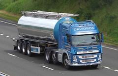 VOLVO FM - DAVIDSON Shotts (scotrailm 63A) Tags: lorries trucks tankers