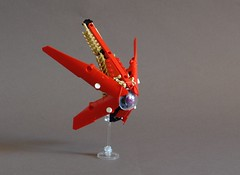First Contact : The Drone (Sydag) Tags: lego moc space ship scifi probe machine
