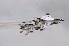 Multi-stacked Thunderbirds... **Explored** (Gary Neville) Tags: pentax pentaxk3 k3 sigma150500 garyneville riat riat2017 thunderbirds explored