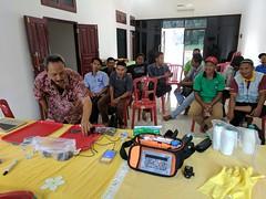 Kehijau Berbak - MCA (everyoneisgone) Tags: akvo akvoflow akvotraining caddisfly mca kehijau berbak soil