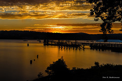 _MG_2099...Another Hudson Sunset. (poppy998) Tags: hudsonvalley hudsonriver clouds