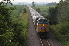 UP 5582 (CC 8039) Tags: up bnsf trains ac44cw milledgeville illinois