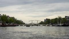 Amstel (aemb01) Tags: amstel amsterdam netherlands paysbas canal ship boat bridge pont vélo bateau bicycle bike