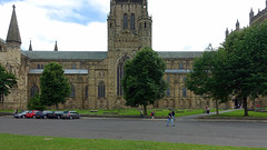 Durham Cathedral, flank