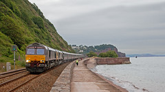 Normal Service? (Richie B.) Tags: gbrf great britain railfreight 1z79 teignmouth devon general motors emd class 66 66746 66744