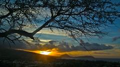 Wednesday Morning Sunrise (macprohawaii) Tags: diamondhead sunrise honolulu hawaii fujifinepixhs10