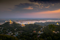Mandalay (Patrick Foto ;)) Tags: sagaing ancient architecture asia asian beautiful buddhism building burma city cityscape culture dusk fog gold golden heritage hill history landscape light mandalay monastery morning mountain myanmar outdoor pagoda panoramic religion religious river scenic sky southeast stupa sunrise sunset temple tourism tradition traditional tranquil travel urban view viewpoint