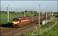 Winwick Junction, EWS 92001 'Victor Hugo' 6E73 (20.05 Arpley - Mossend) 31/05/06. (DigitAL46232) Tags: ews 92001 enterprise