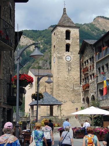 Ordino - Església de Sant Corneli i Cebrià (Andorra)