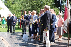 IMG_3128 (Patrick Williot) Tags: waterloo fetes communal parc juillet discours drapeau