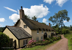 Thatched Cottages (redhead126) Tags: dunster england cottages thatchedroofs quaint history