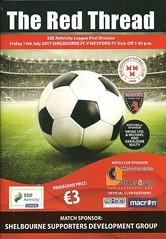 Shelbourne v Wexford 20170714 (tcbuzz) Tags: shelbourne football club tolka park dublin republic ireland irish league programme
