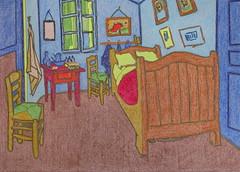 La chambre de Van Gogh à Arles - Van Gogh - 1888_0 (Luc II) Tags: vangogh chambre arles