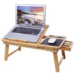 SONGMICS Bamboo Laptop Desk (Songmics_US) Tags: bamboo laptop desk use bed sofa knee