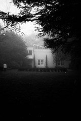 img297 (Robyn Sewell) Tags: foggy mist house film nikonfe trix400 800 xtolstock