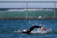 Crawl (Mikey Down Under) Tags: nsw australia bulli swimmer swimming arm ocean pool splash
