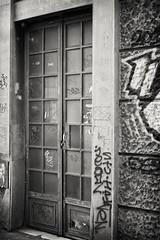 20170502-0387-Edit (www.cjo.info) Tags: bw balkanpeninsular belgrade beograd europe formeryugoslavia nikcollection nikolajaostrovskog pentax pentaxk pentaxk3ii smcpentaxfa35mmf2al serbia silverefexpro silverefexpro2 southeasterneurope srbija zemun architecture artdeco autofocus bayonet blackwhite blackandwhite building decay digital door graffiti modernbuilding monochrome urban београд земун николајаостровског србија