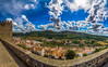 View of the wall 684 (_Rjc9666_) Tags: alentejo arquitectura castelodevide clouds landscape medievalcity nikond5100 panorama portugal tokina1224dx2 weather ©ruijorge9666 portalegre pt 1870 684