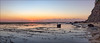 Lonely at sunrise (JustAddVignette) Tags: algae australia clouds collaroy early fisherman intertidalzone landscapes longreef lowtide newsouthwales ocean panorama reflections rocks seascape seawater serene sky sunrise sydney water