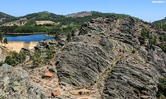 Rugged Nature (Mauro Hilário) Tags: portugal landscape scenery rocks geology mountainside forest canyon dam penha garcia nature granite