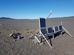 Iceland 6TD installation (Güralp) Tags: volcano monitoring 6td guralp lava flow seismic research
