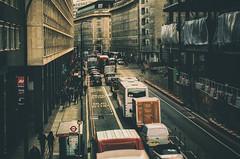 Traffic (☺dannicamra☺) Tags: london uk greatbritain england city town street car traffic building urban texture people stadt verkehr auto strase personen nikon d5100