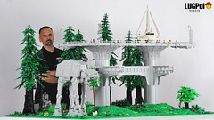 072 - Seriously happy (dmaclego) Tags: lego star wars forest sanctuary moon endor project return jedi moc