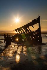 Wreck of Peter Iredale (joe_villamil) Tags: oregon coast wreck peter iredale ships sunset
