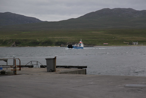 Feolin Ferry struggling with the currents in the Sound of Islay