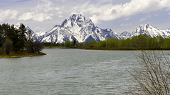 Oxbow Bend (rschnaible) Tags: grand tetons national park oxbow bend snake river mountains outdoors sightseeing snow majestic wyoming us usa western west landscape