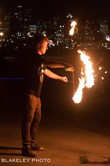 Spinurn 7/12/17 (Chris Blakeley) Tags: spinurn seattle gasworkspark firespinning firespinner fire flow flowarts
