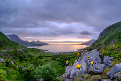 Summernight in Grøtfjord (John A.Hemmingsen) Tags: tromsø landscape grøtfjord kvaløya fujifilm xt2 samyang8mm fisheye