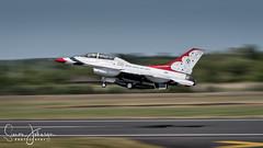 """ Thunderbirds Are Go "" (simonjohnsonphotography.uk) Tags: nikonaviation riat2107 aircraft nikon aviation riat jet fairford simonjohnsonphotography f16c airshow thunderbirds usaf panning"