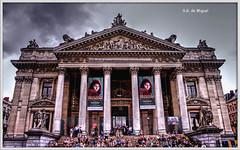 Bolsa de Bruselas (salvador g de miguel) Tags: bolsa bruselas belgica bolsadebruselas brussels