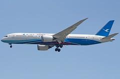Xiamen Airlines Boeing 787-9 Dreamliner B-1567 (Fasil Avgeek (Global Planespotter)) Tags: xiamen airlines boeing 7879 dreamliner b1567 air airways airport jfk kjfk jet aircraft airplane airliner jetliner