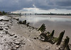 the Mersey at Runcorn 02 jul 17 (Shaun the grime lover) Tags: runcorn cheshire mersey bridge reflection river water jubilee widnes timbers estuary wigg island mud foreshore