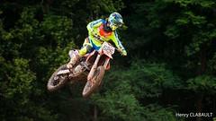 Compétition Moto (henryclabault) Tags: mécanique moteur sportmécanique course hauteur vitesse figure freestyle pilote casque motard motocross moto aerial aerien jump saut