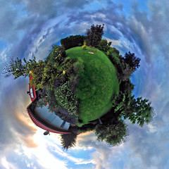 my little garden planet (Simple_Sight) Tags: garden planet earth green blue home sky clouds