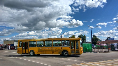 Serpukhov city bus 109, ex-school bus