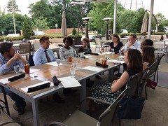 """Lunch with leaders of the Lee District Dem Committee • <a style=""""font-size:0.8em;"""" href=""""http://www.flickr.com/photos/117301827@N08/35749347861/"""" target=""""_blank"""">View on Flickr</a>"""