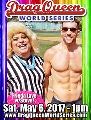 Frieda & Steve (danimaniacs) Tags: dragqueen chicosangels friedalaye shirtless hunk man guy stevesiler pecs