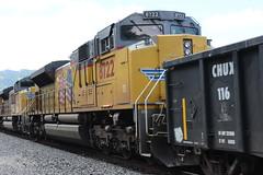 (CaliforniaRailfan101 Photography) Tags: unionpacific up dirtydirt powermove ge emd sd70m sd70ace sd70ah et44ah tier4gevo tier4 es44ah es44ac gevo
