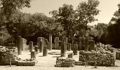 0014 Baptistry, Butrint (4) (tobeytravels) Tags: albania butrint buthrotum illyrian baptistry