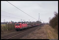 DB Cargo 143 337, Ahlten 18-02-2017 (Henk Zwoferink) Tags: lehrte niedersachsen duitsland henk zwoferink hannover db cargo br143 143