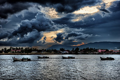 Cambodia (rvjak) Tags: cambodge kompot cambodia pêcheurs fishermen