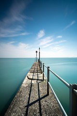 St Lawrence (Bobbybinz) Tags: ramsgate kent groyne post long exposure lee slow big stopper nikon d800e