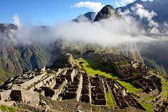Amanece sobre Machu Picchu
